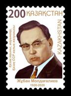 Kazakhstan 2020 Mih. 1207 Poet Zhuban Moldagaliev MNH ** - Kazajstán