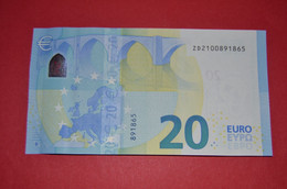 BELGIUM - Z020 B3 * 20 EURO  - ZD2100891865 - NEUF - UNC - 20 Euro