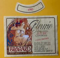 15924 - Fleurie Bragard 1983 Cuvée Prestige Style Art Nouveau - Kunst