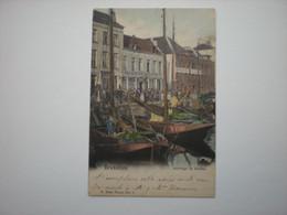 BRUXELLES 1901- ARRIVAGE DE MOULES - E. NELS PHOTO N° 1 COLORISEE - Andere