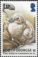 SOUTH GEORGIA 2004 Juvenile Fauna - 1p - Antarctic Skua MNH - Géorgie Du Sud