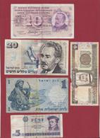 Pays Du Monde 9 Billets Dans L 'état - Lots & Kiloware - Banknotes