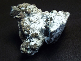 Tetrahedrite Subgroup & Others( 3 X 3 X 3 Cm ) La Sanguinede Mine, Les Malines District - Gard - France - Minéraux