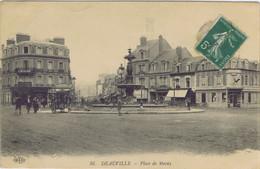 14 - Deauville (Calvados) - Place De Morny - Deauville