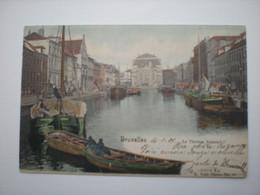 BRUXELLES 1901 - LE THEATRE FLAMAND - PENICHES - E. NELS PHOTO N° 16 COLORISEE - Andere