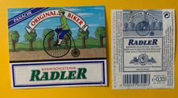 15930 - Radler Original Biker 1995 Bière Panachée Allemagne - Beer