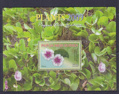 Papua New Guinea 2009 Plants S/S MNH - Papua-Neuguinea