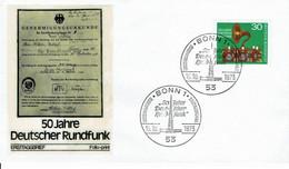 Germany - Mi-Nr 786 FDC (f446) - [7] Repubblica Federale