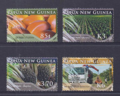 Papua New Guinea 2009 Oil Palm Stamps MNH - Papua-Neuguinea