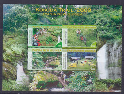 Papua New Guinea 2009 KOKODA Trail Sheetlet MNH - Papua New Guinea
