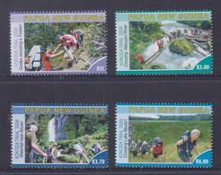 Papua New Guinea 2009 KOKODA Trail Stamps MNH - Papua-Neuguinea