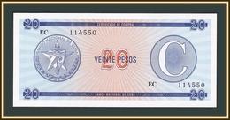 Cuba 20 Pesos 1985 P-FX23 UNC - Cuba