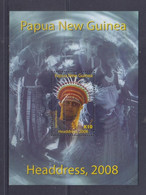 Papua New Guinea 2008 Headdress S/S MNH - Papua-Neuguinea