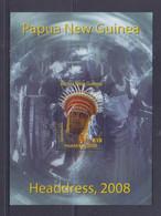 Papua New Guinea 2008 Headdress S/S MNH - Papua New Guinea