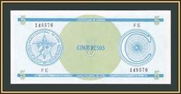 Cuba 5 Pesos 1985 P-FX13a.1 UNC - Cuba