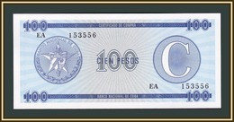 Cuba 100 Pesos 1985 P-FX25 UNC - Cuba