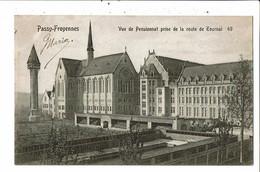 CPA-Carte Postale-Belgique-Passy-Froyennes Pensionnat Vue Prise De La Route De Tournai 1910VM21937dg - Tournai