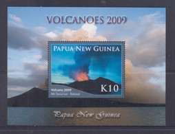 Papua New Guinea 2009 Volcanoes S/S MNH - Papua-Neuguinea
