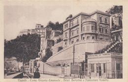 Campania - Napoli - Corso Vittorio Emanuele - Hotel Bertolini E Funicolare Vomero - F. Piccolo - Nuova  - Bella Animata - Napoli (Naples)