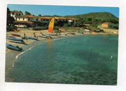 Porto San Paolo (Sassari) - Spiaggia - Barche -  Viaggiata - (FDC25083) - Sassari