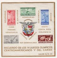 Republique De Panama. 1938. Yvert BF 1. Timbres Aeriens Jeux Sportifs De 1937. - Panama