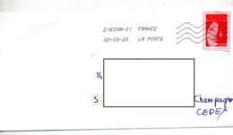 Lettre Flamme Chiffree Sous Code Sur Vignette Femme 2019 - Marcophilie (Lettres)