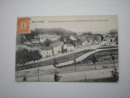 BOITSFORT - VUE PANORAMIQUE DE LA RUE MIDDELBOURGET DU NOUVEAU PARC - Watermael-Boitsfort - Watermaal-Bosvoorde