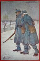 K.u.K. Soldaten, WWI - Offizielle Karte Fur Rotes Kreuz Nr. 60 - Kameradschaftsdienst , 4.Feld Kompagnie - Weltkrieg 1914-18