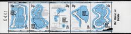 BIOT - 1994 - 18th Century Maps - Mint Stamp Set (se-tenant Strip) - Territoire Britannique De L'Océan Indien