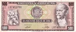 Peru P.104 500 Soles 1974 Xf - Perú