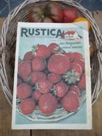 "Ancienne Revue Des Campagnes "" Rustica "" Sur La Nature Et Le Jardinage - 23 Octobre 1955 - Giardinaggio"