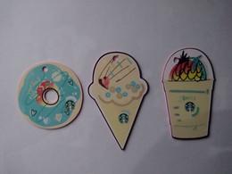 China Gift Cards, Starbucks, 500 RMB, 2019 (3pcs) - Gift Cards