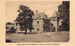 Plélan (35) - Le Château Du Pont Muzard. - Autres Communes