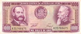 Peru P.105 1000 Soles 1973 Xff - Perú