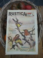 "Ancienne Revue Des Campagnes "" Rustica "" Sur La Nature Et Le Jardinage - 30 Octobre 1955 - Giardinaggio"
