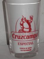 VERRE  BIÉRE CRUZCAMPO - Glasses