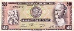 Peru P.110 500 Soles 1975 Xf - Perú