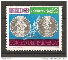 PARAGUAY - Giochi Olimpici Del MESSICO - Monete Olimpiche Messicane Nuovo** MNH - Verano 1968: México