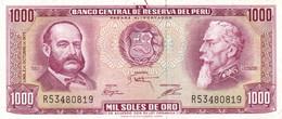 Peru P.111 1000 Soles 1975 Xf - Perú