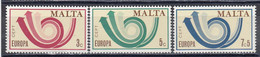 Malta 1973 - Europa CEPT, Mi-Nr. 472/74, MNH** - Malta