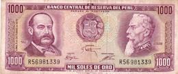 Peru P.111 1000 Soles 1975 Fine - Perú