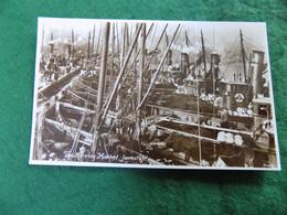 VINTAGE UK ENGLAND SUFFOLK: LOWESTOFT The Herring Market Sepia 1934 Spashetts - Lowestoft