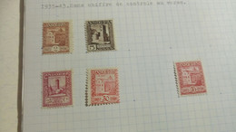 DM127 MONDE LOT FEUILLES NEUFS / OB A TRIER COTE++ DÉPART 10€ - Sammlungen (im Alben)