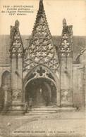 29 - PONT CROIX - PORCHE GOTHIQUE DE L'EGLISE PAROISSIALE - ARCHITECTURES DE BRETAGNE  - Coll. E. Hamonic - St B. - 7519 - Pont-Croix