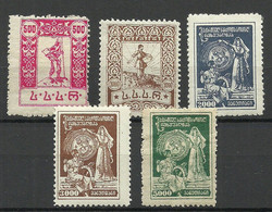 GEORGIEN Georgia 1922 Michel Michel 31 - 35 A * - Georgia