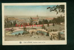 AK Esch-Sur-Alzette, Panorama Et Partie Du Parc, Ungelaufen - Esch-Alzette