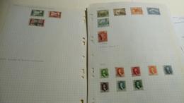 DM131 MONDE LOT FEUILLES NEUFS / OB A TRIER COTE++ DÉPART 10€ - Sammlungen (im Alben)