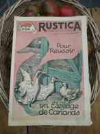 "Ancienne Revue Des Campagnes "" Rustica "" Sur La Nature Et Le Jardinage - 16 Octobre 1955 - Giardinaggio"