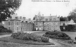 Plerguer (35) - Le Château De Beaufort. - Autres Communes