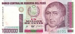Peru P.148  1000000 Intis 1990 Xf - Perú